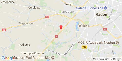 Google Map of JARMUS, Kielecka 116, 26-601 Radom